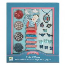 Bijoux à créer - Perles et oiseaux Djeco