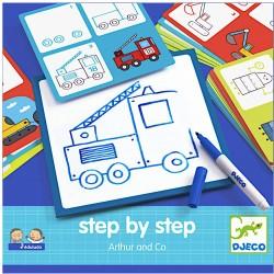 Stap voor stap tekenen - Arthur & Co