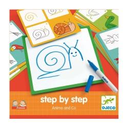 Stap voor stap tekenen - Dieren & Co