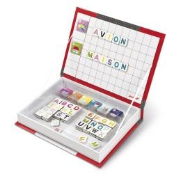 Janod Magneetboek Alfabet