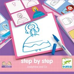 Stap voor stap tekenen - Josephine & Co