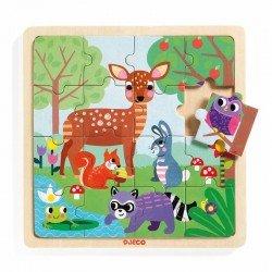 """Puzzle en bois """"Forest"""" (16 pcs)"""