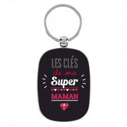 "Porte-clef ""Ma super maman"""