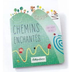"""Livre tactile """"les chemins enchantés"""" - Lilliputiens"""