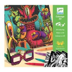 3D-kleuren - Funny Freaks