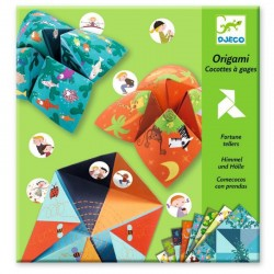 Origami Cocottes à gages Animaux Djeco