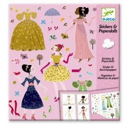 Stickers & poppetjes van papier - Jurken voor alle seizoenen