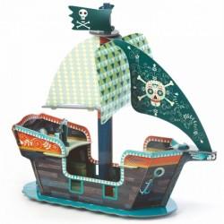 Le bateau de pirate Djeco
