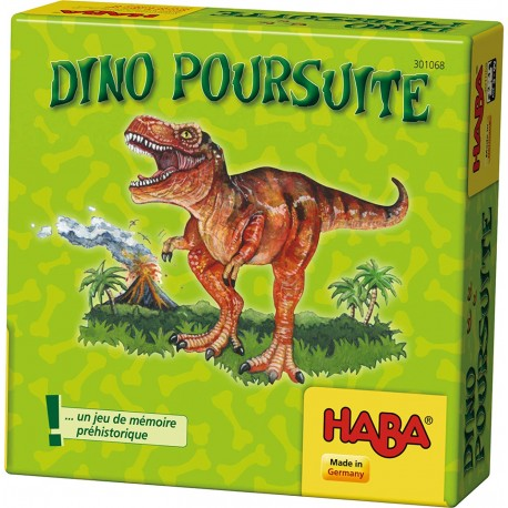 Jeu Dino poursuites Haba