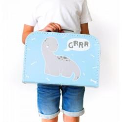Koffertje met brontosaurus