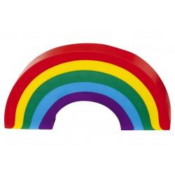 Grote gommetje Regenboog