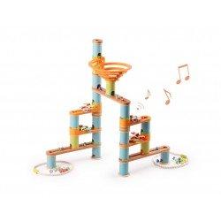 Circuit de billes musical