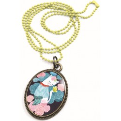 Collier lovely sweet Chat