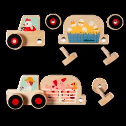 Tracteur set d'assemblage Lilliputiens