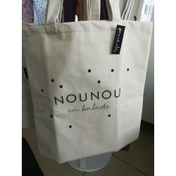 """Tote bag """"Nounou en balade"""""""