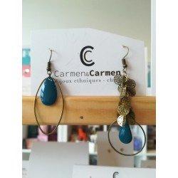 Boucles d'oreilles Carmen & Carmen