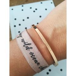 "Armband ""merci maîtresse"""