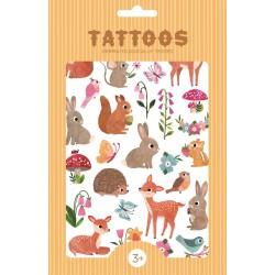 Tatouages Animaux des bois