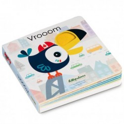 Voelboek met geluiden Vrooom