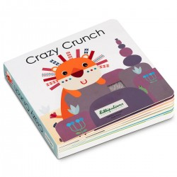 Voelboek met geluiden Crazy Crunch