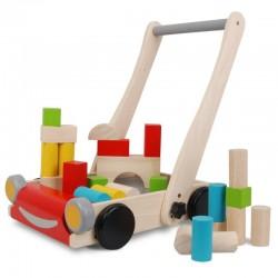 Houten loopwagen Plan Toys