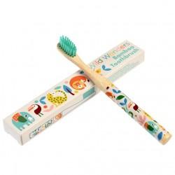 Bamboe tandenborstel Wilde wonderen