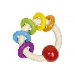 Rammelaar met ringen