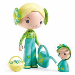 Djeco Tinyly Figuur - Flore & Bloom