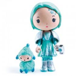 Djeco Tinyly Figuur - Cristale & Frizz