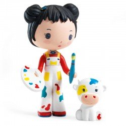 Figurine Tinyly - Barbouille & Gribs