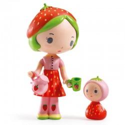 Djeco Tinyly Figuur - Berry & Lila