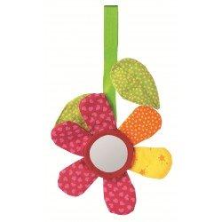 """Clip textile """"fleur"""""""