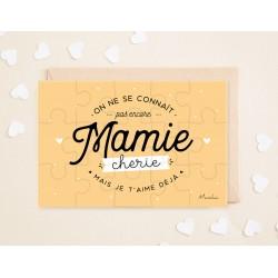 "Aankondiging Puzzel ""Mamie"""