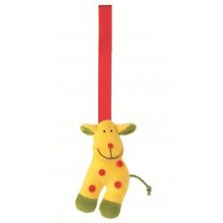"""Clip textile """"girafe"""""""