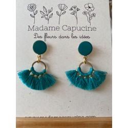 Boucle d'oreilles Madame Capucine