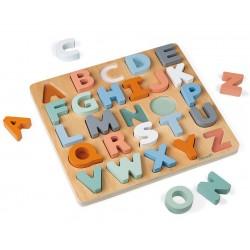 Inlegpuzzel Alfabet