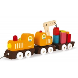 Train grue Multi colors Janod