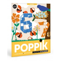 Poppik sticker poster Cijifers