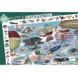 """Puzzle d'observation """"Aéro club"""" (200 pcs)"""