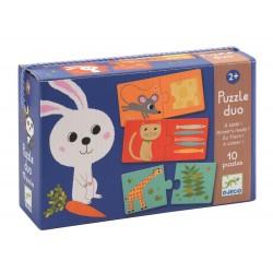 """Puzzle duo """"Aan tafel"""" (10 puzzles)"""