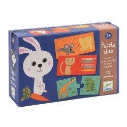"Puzzle duo ""Aan tafel"" (10 puzzels)"