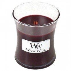 Kaars Woodwick Black Cherry (klein)