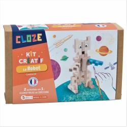 Construction Cloze - Le robot