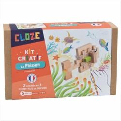 Construction Cloze - Le poisson