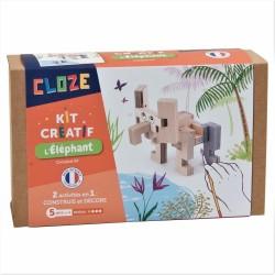 Construction Cloze - L'éléphant