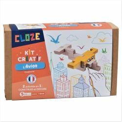 Construction Cloze - L'avion