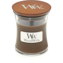 Kaars Woodwick Amber & Incense (klein)
