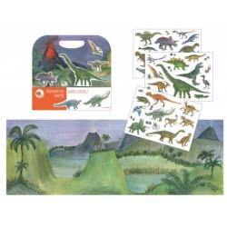 Livre magnétique - Dinosaures