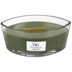 Bougie Woodwick sapin (ellipse)
