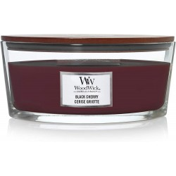 Kaars Woodwick Black Cherry (ovaal)